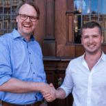 Cord Winkelmann and Marko Sverdlik in Bremen, Germany / Sensorise establishment